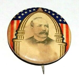 "ALTON PARKER 1.25"" campaign pin pinback button political presidential election"