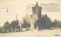 1910 1st Congregational Church San Diego California RPPC Real Photo 5059