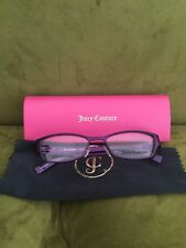 Brand New Authentic Juicy Couture Satin Purple Eyeglass Frames !!