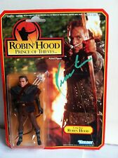 "Kevin Costner signed autograph ""Robin Hood"" 5"" Long Bow Kenner action figure C0A"