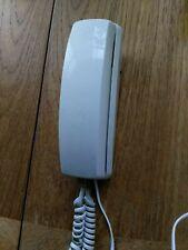 Vintage  wall mountadle Telephone  audioline 29  ren1 push button white
