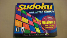 Sudoku Puzzle Addict Unlimited Edition from GSP for PC, windows 98/2000/xp/me