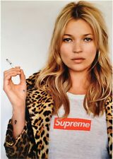 Kate Moss Supreme classic iconic poster A1 Large glossy Fashion Wall art SUPREME