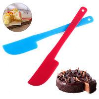 Plastic Cream Cake Spatula Mixing Batter Scraper Knife Brush Baking Tool Trendy