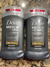 Dove Men+Care Elements Deodorant, Mineral Powder + Sandalwood X2