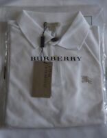 NWT Burberry Brit White Polo T-shirt Authentic Size M