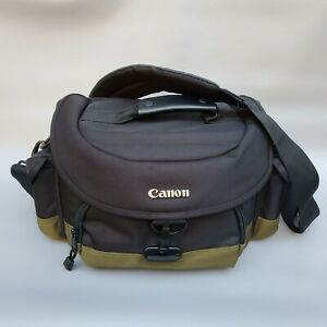 Canon Deluxe Camera Gadget Bag 100EG Black and Olive Green