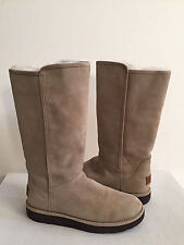 UGG CLASSIC LUXE ABREE II TALL STONE WATER RESISTANT Boot US 10 / EU 41 / UK 8.5