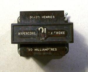 HYPERCORE LF CHOKE  30/20 HENRIES 50 ma   RI limited.
