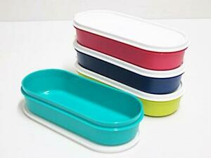 Tupperware Candy Pop Oval Keeper (Set of 4) 450ml + Free Shipping