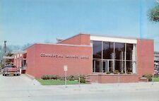 Carroll Iowa~Nice 1950s Car~Make A Deposit @ Drive-Thru~Commercial Savings Bank