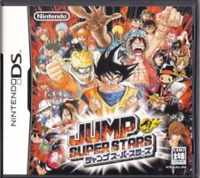 Used DS Jump Super Stars  NINTENDO JAPANESE IMPORT