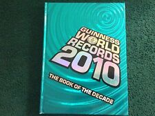 GUINNESS WORLD RECORDS RECORD 2010 BOOK