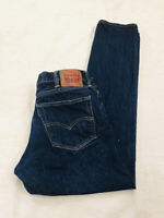 LEVI STRAUSS 511 MENS BLUE DENIM JEANS SIZE W38 L 34