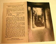 1940's Iron Gate Inn Folder