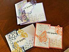 Butterfly Z-fold Sympathy Card