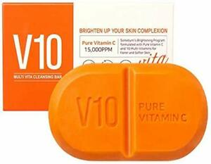 SOME BY MI - Pure Vitamin C V10 Cleansing Bar 1 piece  - 106g