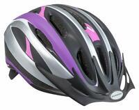NEW! Schwinn Intercept Microshell Bike Bicycle Skate Helmet, Youth, Black/Purple