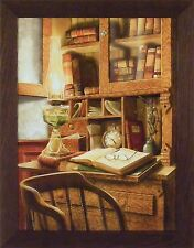 JURIS PRUDENCE by Doug Knutson 22x28 FRAMED PRINT PICTURE Law Legal Lawyer
