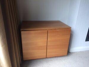 Tapley 33 Teak two door floor standing cabinet very good condition