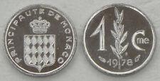 Monaco 1 Centime 1978 p155 unz