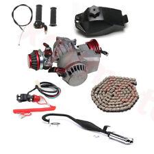 47/49cc Puller Engine Motor Muffler kit Mini PIT BIKE Scooter ATV Mower Go kart