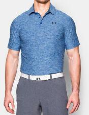 Under Armour Men's Playoff Golf Polo Shirt  Sz XL Blue NWT