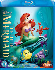 The Little Mermaid (Blu-ray, 2013) - excellent condition! - Disney