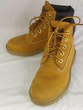 """Timberland 10960 6"""" Wheat Nubuck Classic Waterproof Youth Boys Boots Size 4 1571"""