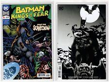Batman Kings of Fear #1 DC Comic Regular & Variant Cover (8/22/18 1st Print)