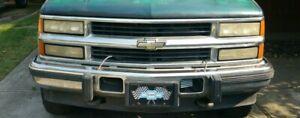 NEW Front Bumper Chrome Steel For 1992-2002 Chevrolet & GMC C/K diesel 6.5 T