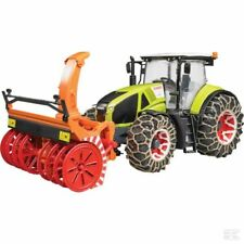 Bruder Claas Axion 950 With Snow Plough 1:16 Scale Model Toy Present Gift