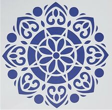 A4 Flexible Stencil *MANDALA CIRCLE* Painting Embossing Round Pattern Design # 1