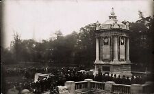Bournemouth. Prince George Unveiling War Memorial. Card by Hillis-Lonnen B'mouth