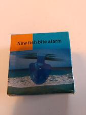 Fish Bite Bait Alarm Alert Bells LED Light Sound Warning Sea Fishing Rod Clamp