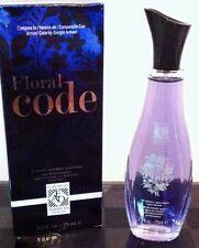 FLORAL CODE Perfume for Women, 2.5 oz spray (ARMANI CODE by ARMANI Type) NEW