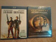 Pack 2 Blu-ray Van Damme:, Soldado Universal+Soldado Universal. El retorno