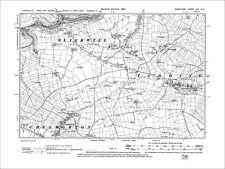 Taddington, Chelmorton, Priestcliffe, Old Map Derbyshire 1899: 22-NE