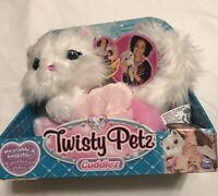 NEW Twisty Petz Cuddles - Pink &White Purrella Kitty Plush Cuddlez Pets