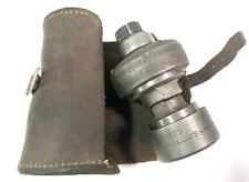 Green Lee 737 Knockout Punch Rockford Illinois 1 12 Conduit Leather Roll Vntg