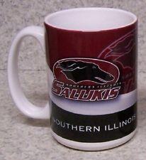 Coffee Mug Ncaa Southern Illinois Salukis New 15 ounce cup with gift box