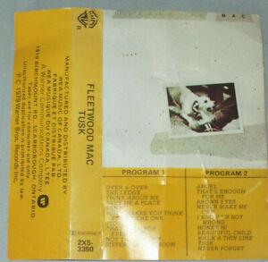 Fletwood Mac Tusk Cassette VG+ Warner Bros