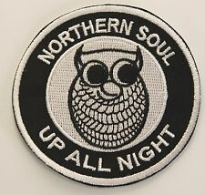 NORTHERN SOUL UP ALL NIGHT/NIGHT OWL PATCH (MBP 282)