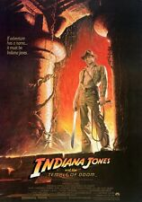 INDIANA JONES AND THE TEMPLE OF DOOM Movie Poster - Full Size Print - Spielberg