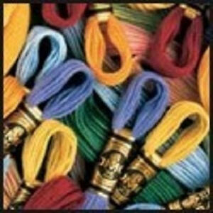 DMC® 6-Strand Embroidery Floss - 489 Colors to choose from - 2 skeins for $.99