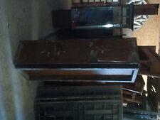 Antique INDUSTRIAL steel horizontal cabinet