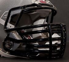 *CUSTOM* CAROLINA PANTHERS Riddell SPEED Football Helmet Facemask - BLACK