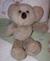 "Avon Tan Beige Plush Stuffed Animal Toy Koala Bear 12"" EUC"