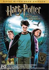 HARRY POTTER & The Prisoner Of Azkaban DVD R4 [2 disc] Widescreen Edition NEW
