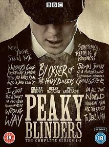 Peaky Blinders complete Season Series 1, 2, 3, 4 & 5 DVD Box Set New